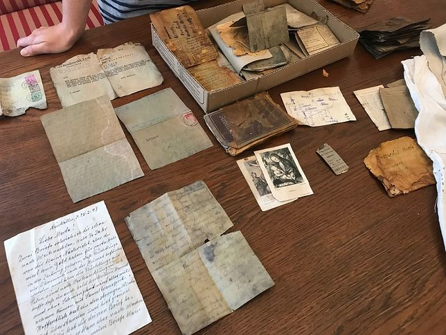 Cenne historyczne znalezisko pod Olsztynem. Rodzinny majątek zakopany pod ziemią