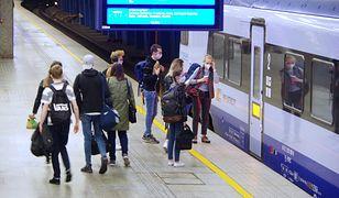 Podczas jazdy pociągiem istnieje podwyższone ryzyko zakażenia