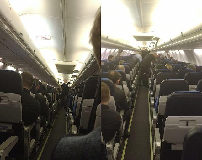 Awaria boeinga lecącego do Warszawy. Mamy relację pasażera