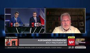 """Wyniki wyborów 2020. Aleksander Kwaśniewski o exit poll. """"Różnica to kilkaset tysięcy głosów"""""""
