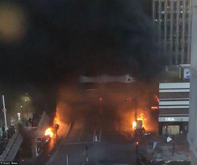 Pożar w Paryżu. Ewakuowano dworzec Gare de Lyon