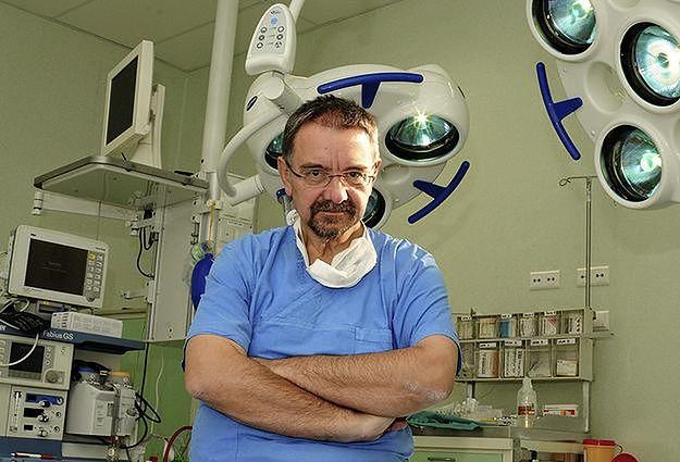 Profesor Romuald Dębski, jeden z najbardziej znanych ginekologów w kraju