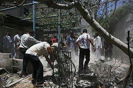 Izraelski nalot na Strefę Gazy