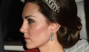 Kate Middleton i William na kolacji w pałacu Buckingham