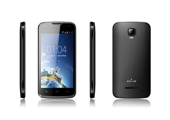 Kazam Thuder 345LTE - smartfon z LTE