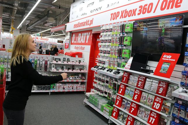 Weekend gier w warszawskim Media Markt