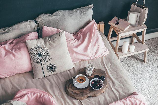 Ładna, pachnąca i przyjemna w dotyku pościel z bawełny zapewni nam dobry sen