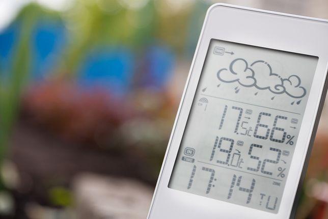 Domowa stacja pogodowa wskazuje głównie temperaturę, ciśnienie i wilgotność