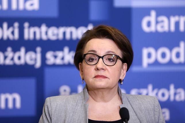 Strajk nauczycieli 2019. Anna Zalewska: nie widzimy zagrożenia dla matur