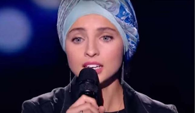 """Uczestniczka """"The Voice of France"""""""