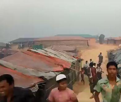 Słoń zdemolował obóz uchodźców. Są ofiary