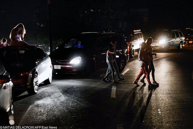 Wenezuela - awaria prądu paraliżuje kraj od czwartku 7 marca.