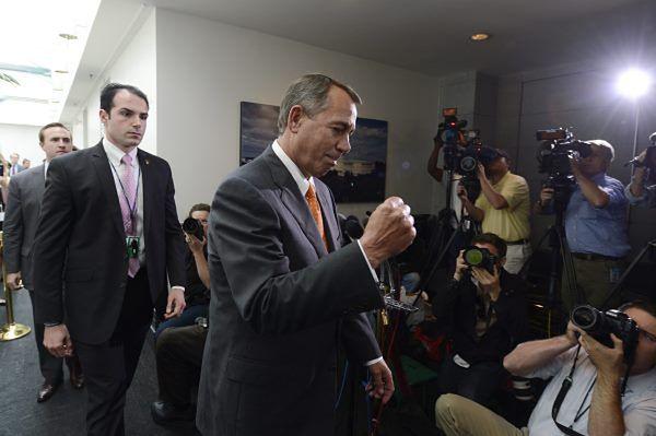 Przewodniczący Izby Reprezentantów, Republikanin John Boehner