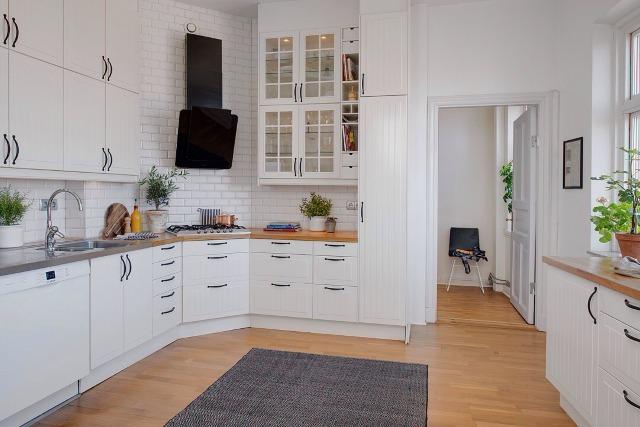 bia�a kuchnia zdjęcia inspiracje wp dom