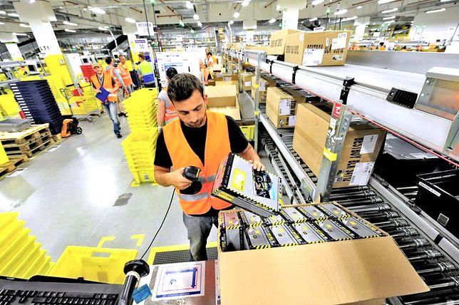 Amazon otwiera kolejne centrum logistyczne