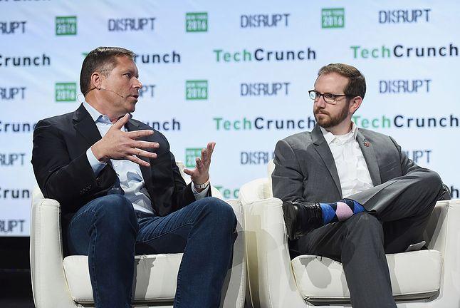 Nate Cardozo (po prawej; TechCrunch, 2016)