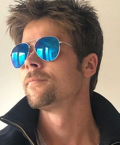 """Mówią o nim """"sobowtór Brada Pitta"""". Kim jest Nathan Meads?"""