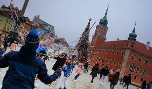 Pogoda w Warszawie w czwartek 24 grudnia. Pochmurna i deszczowa Wigilia