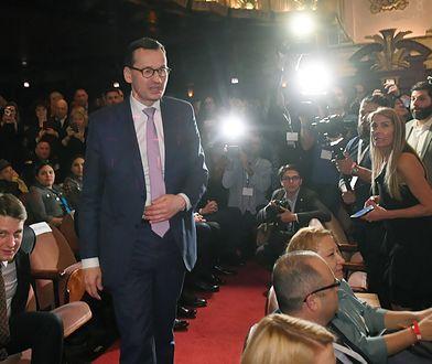 Premier Mateusz Morawiecki wziął udział w pokazie filmu i w sesji Q&A w Lyric Opera of Chicago.