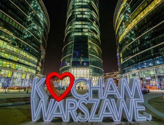 Warszawa. W walentynki łatwo wyznać swoje uczucia. Także do miasta