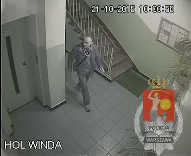 Próbował włamać się do mieszkania. Rozpoznajesz tego mężczyznę?