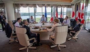 Członkowie G7 dyskutują o bieżących problemach świata