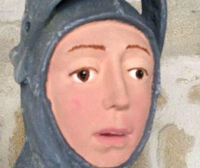 Tak wygląda figura św. Jerzego po renowacji
