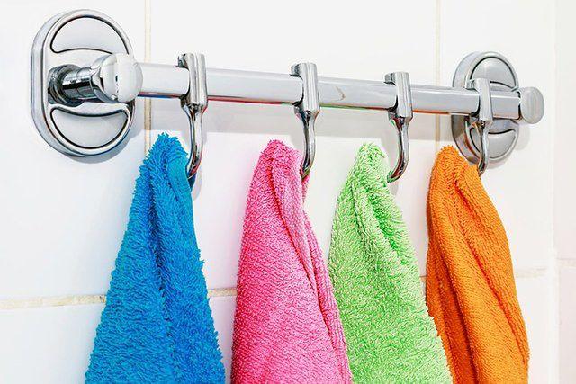 Te rzeczy pierzesz za rzadko: bawełniane ręczniki