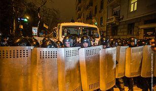 Władze Ukrainy śledzą komórki uczestników protestów