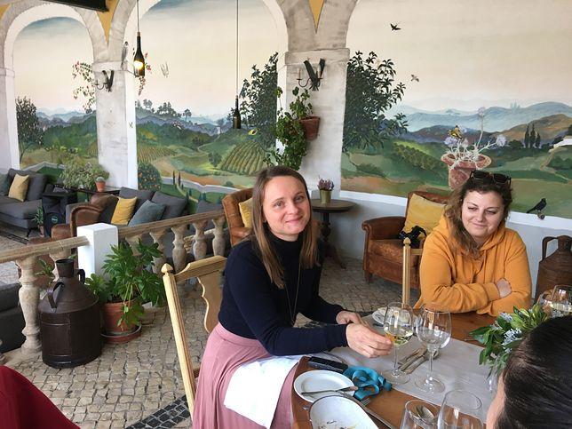 Zofia Tomczyńska (po lewej) mieszka w Portugalii 12 lat