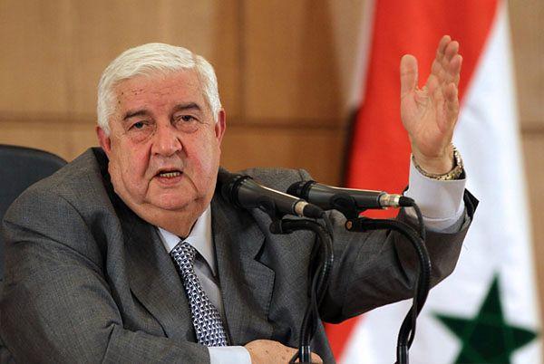 Walid el-Mu'allim, syryjski minister spraw zagranicznych