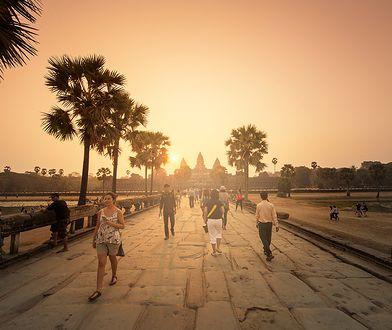 Angkor Wat - największa atrakcja Kambodży