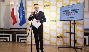 Polska 2050 rusza do boju w Sejmie i Senacie. Szymon Hołownia zapowiadał to posunięcie