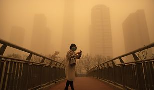 """Pekin """"pomarańczowy"""". Niebezpieczne zjawisko w stolicy Chin"""