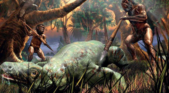Byli wielkości trzyletnich dzieci, ważyli ok. 25 kg, a mózg mieli mniejszy od większości szympansów