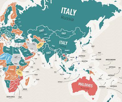 """Zdecydowana część świata najczęściej wyszukuje w Google hasło """"wakacje we Włoszech"""""""