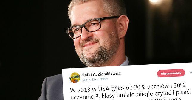 """Rafał A. Ziemkiewicz, publicysta """"Do Rzeczy""""."""