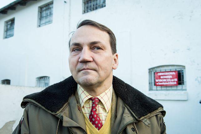 Radosław Sikorski jednym wpisem podsumował oskarżenia Kaczyńskiego o zabójstwo brata