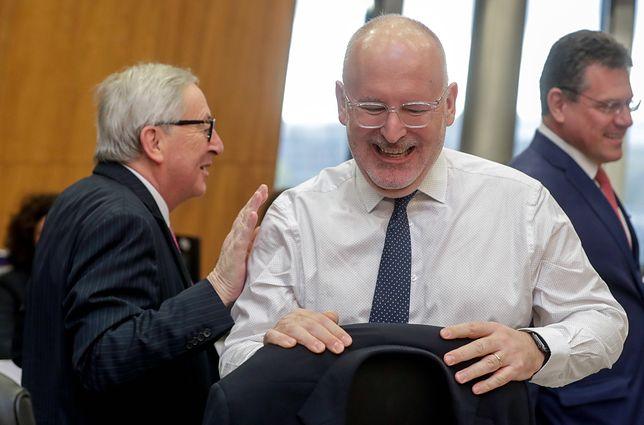 """Wybory do Parlamentu Europejskiego 2019. Frans Timmermans w Polsce. """"Stary lis robi interesy z SLD"""""""