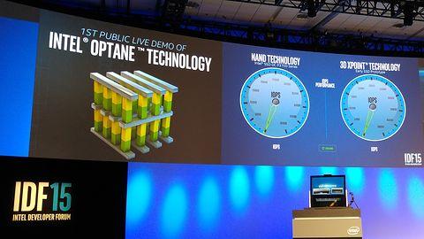 [IDF 2015] Intel Optane: pamięci typu 3D XPoint wielokrotnie wydajniejsze od najszybszych SSD