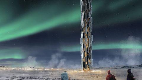 Przyszłość Sieci? Futurystyczne podbiegunowe centra danych w wieżach