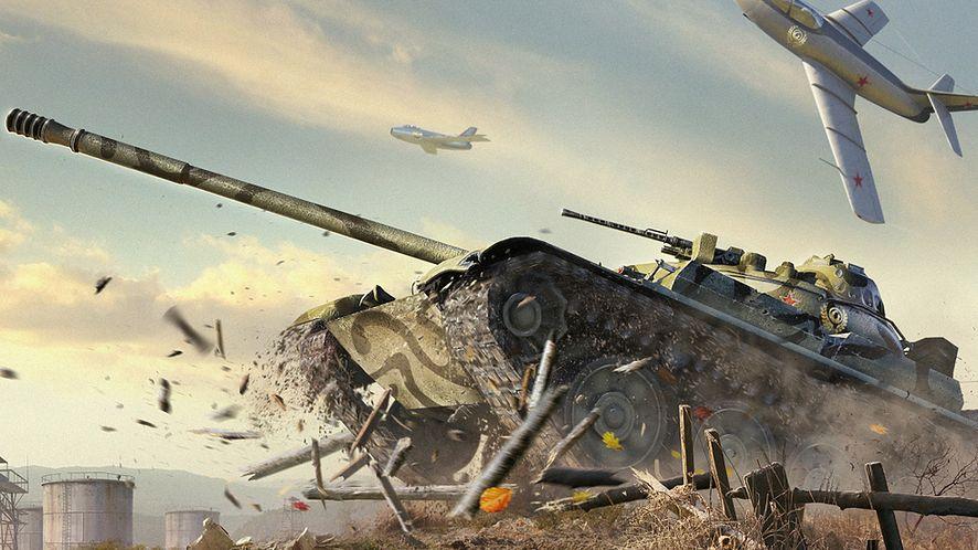 Grafika z World of Tanks