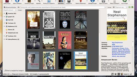 Calibre 2.0 z edytorem książek i niezmiennie brzydkim interfejsem