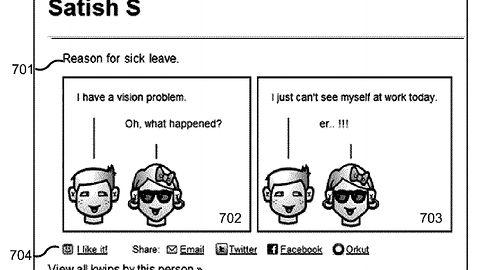 Czy będzie można szybko zrobić komiks z historii Hangoutów? Google ma odpowiedni patent