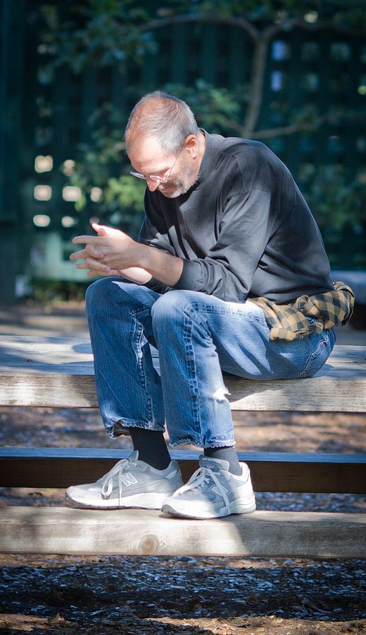 Steve Jobs inaczej