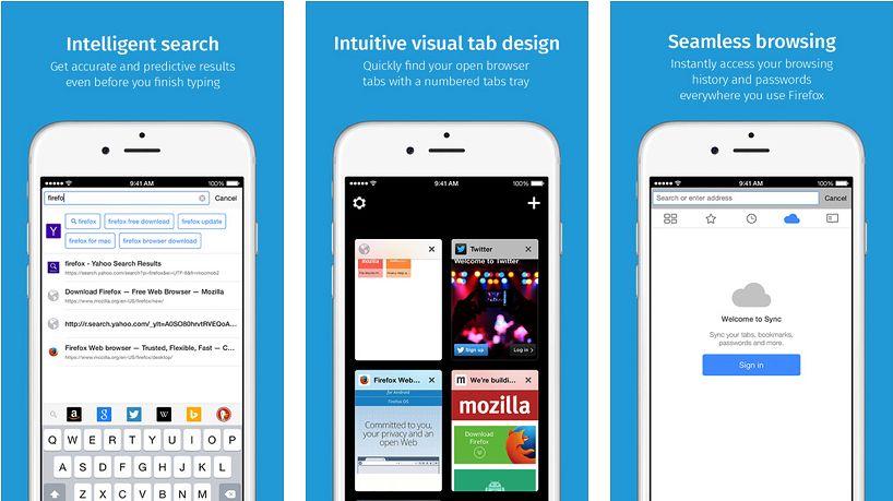 Firefox dla urządzeń z systemem iOS jeszcze w tym roku