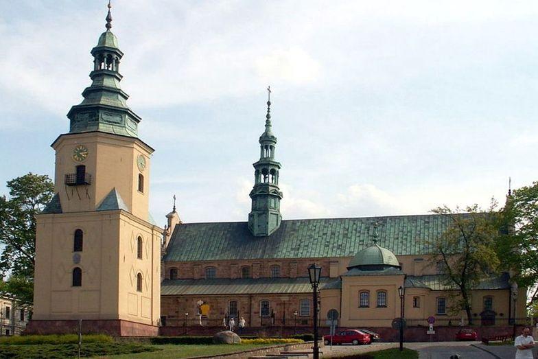 Marihuana w kościele. Policja na mszy w bazylice katedralnej w Kielcach