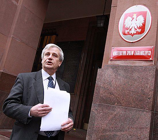 Paszkowski: nie będę już rzecznikiem MSZ