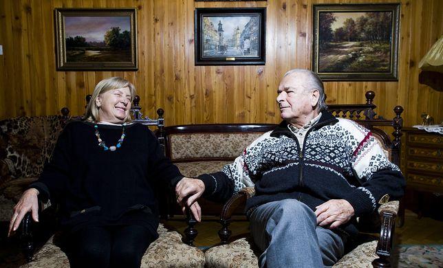 Maria i Czesław Kiszczak