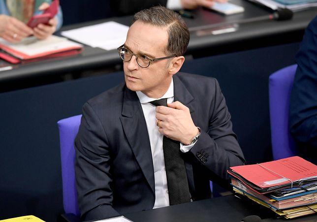 Niemiecki szef dyplomacji chciałby nałożyć sankcje na Polskę i Wegry
